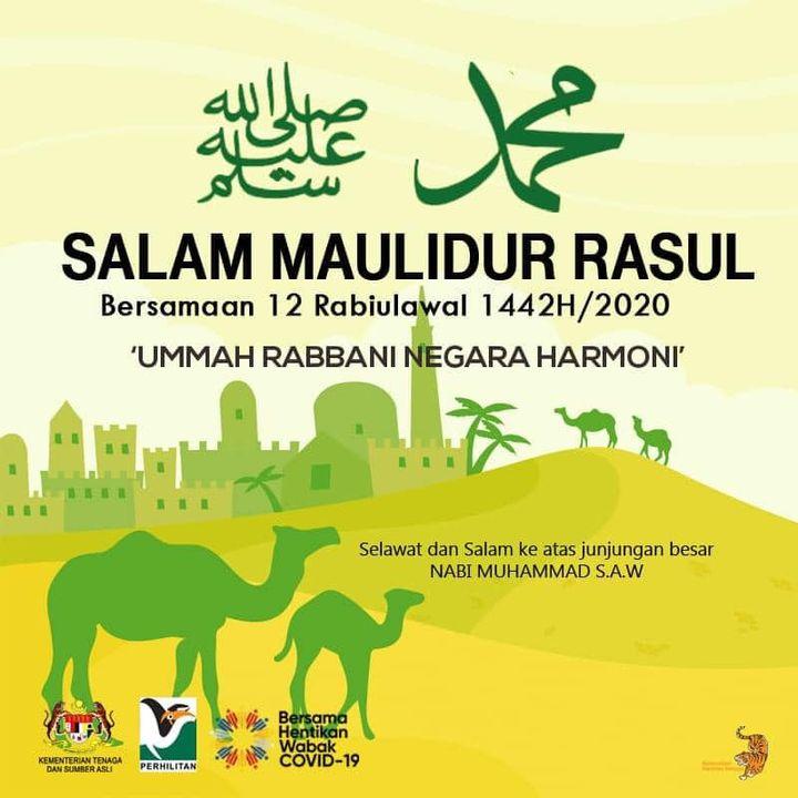 Salam Maulidur Rasul Bagi Umat Islam..mari Kita Berselawat