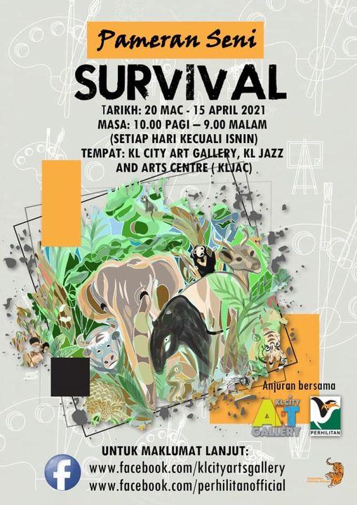[pameran Seni 'survival']