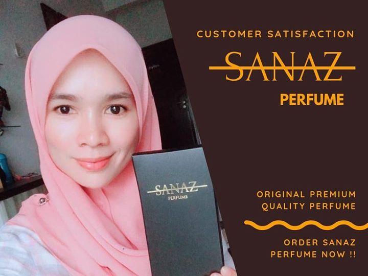 Alhamdulillah, Terima Kasih Pelanggan Sanaz Perfume Kerana Tidak