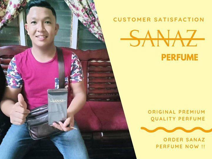Alhamdulillah , Terima Kasih Pelanggan Sanaz Perfume Kerana